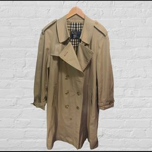 Women's L Classic Lined Burberry Trench Coat